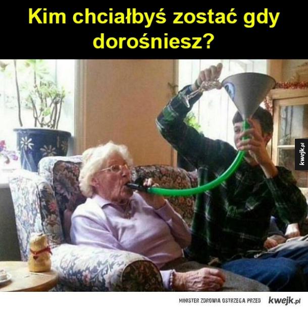 babcią heheszką