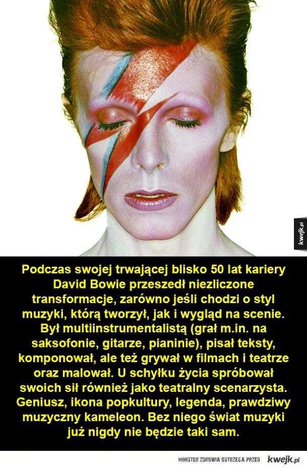 Bowie - wraz z nim skończyła się pewna epoka w muzyce