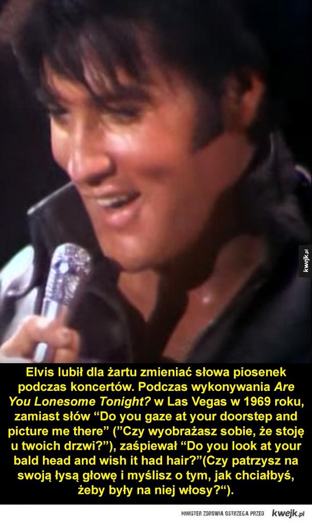 Elvis Presley - tego być może o nim nie wiedziałeś
