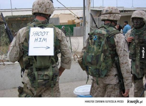 Żołnierski humor