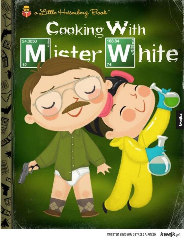 Postacie z seriali, filmów i gier jako bohaterowie książeczek dla dzieci