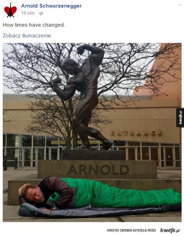 Arnold, brawo za dystans!