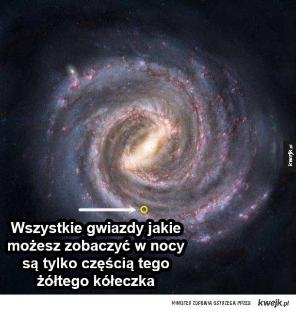 ogrom wszechświata