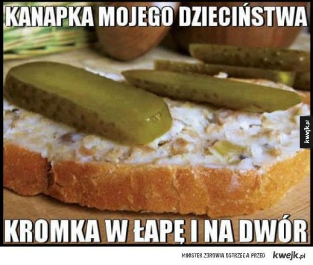 kanapka mojego dzieciństwa