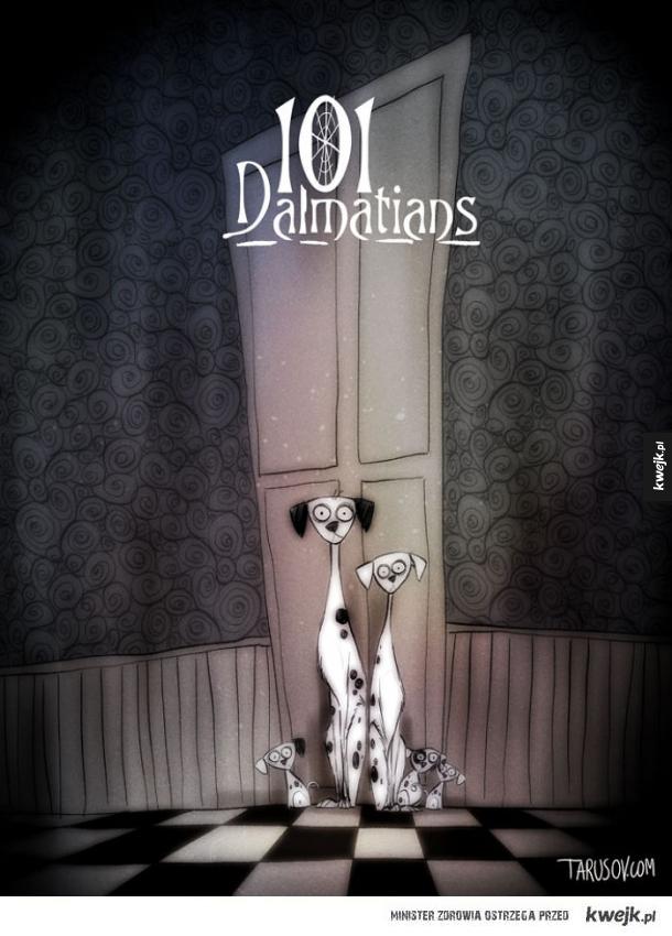 Gdyby Tim Burton nakręcił słynne filmy Disneya