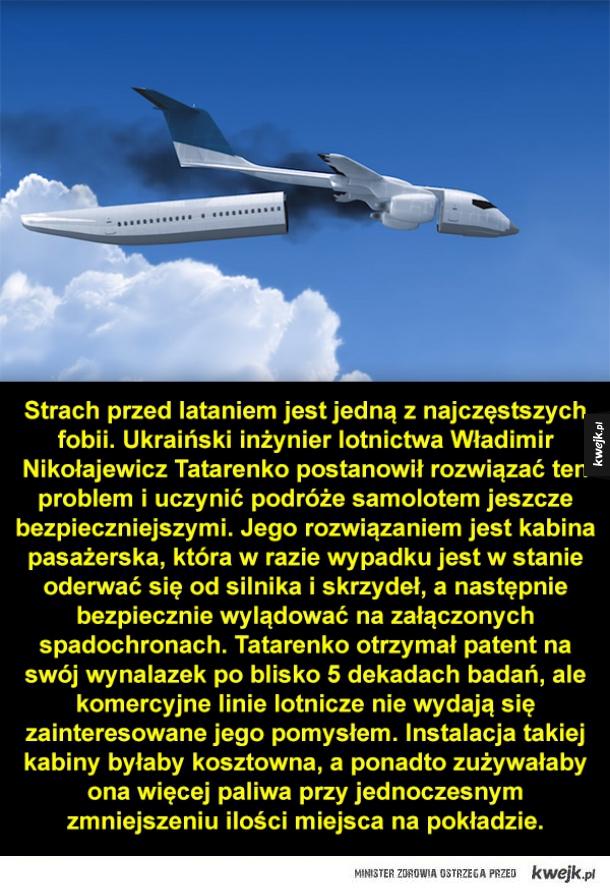 Super bezpieczny samolot