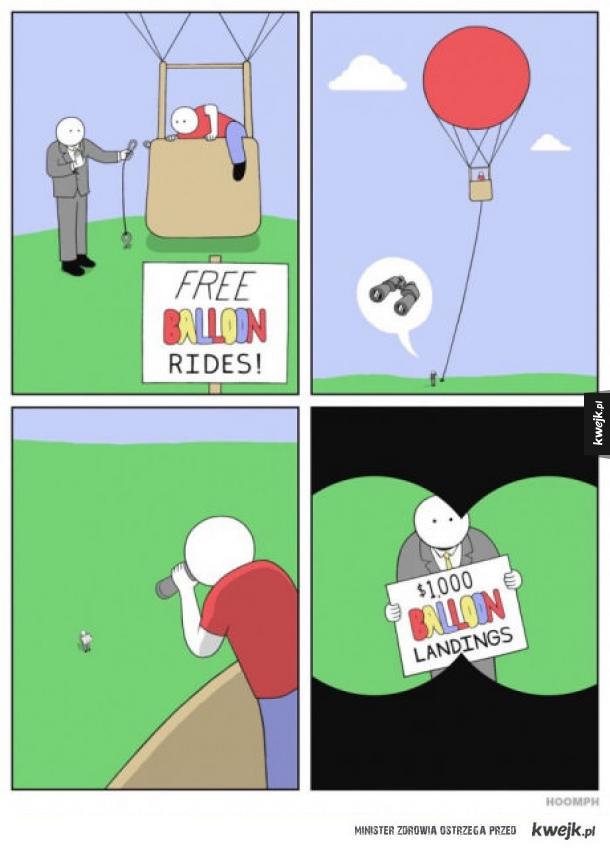 jak zrobić kogoś w balona?