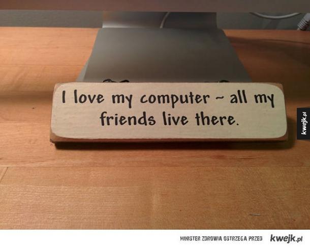 Kocham mój komputer
