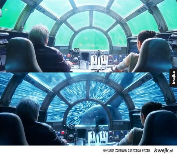 Efekty specjalne w najnowszych Gwiezdnych Wojnach