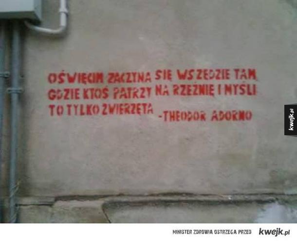 Adorno był całkiem mądrym kolesiem