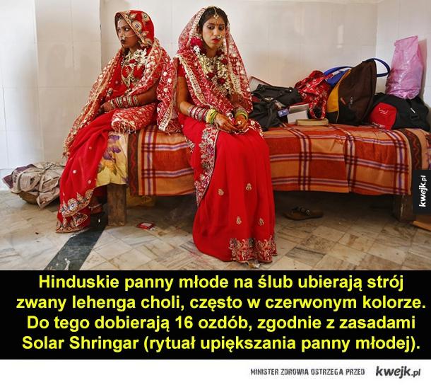 Suknie ślubne z różnych części świata