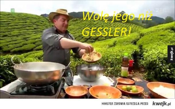 MAKŁOWICZ W PODRÓŻY vs Gessler