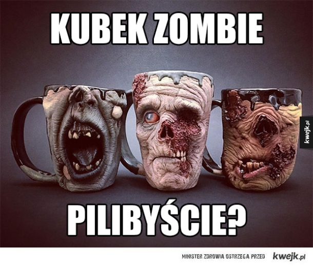 Zombie kubek