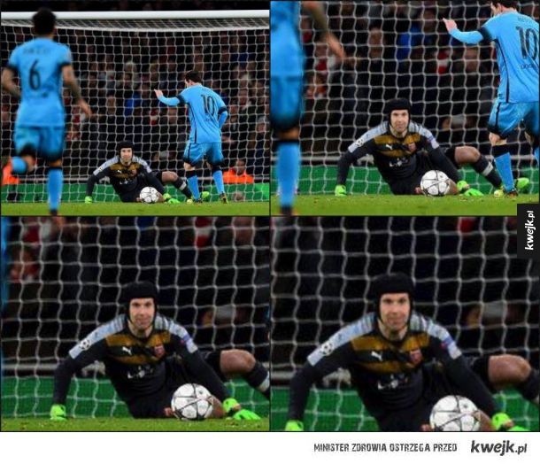 Od początku wiedział, że Messi strzeli