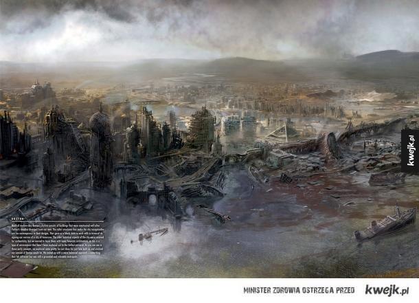 Grafiki koncepcyjne do gry Fallout 4