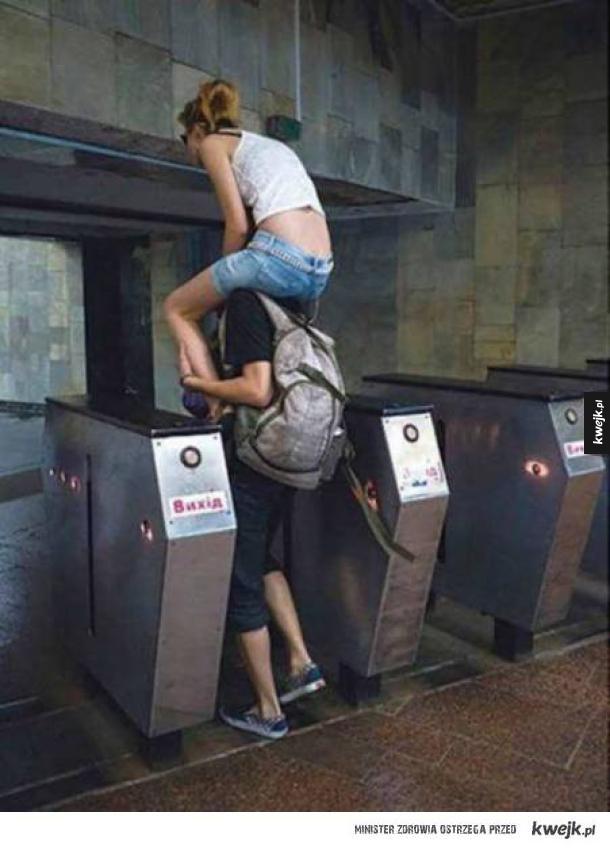Sposób na bramki metra