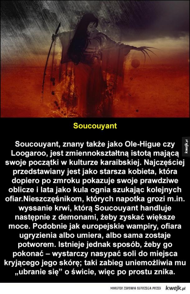 Potwory z różnych folklorów