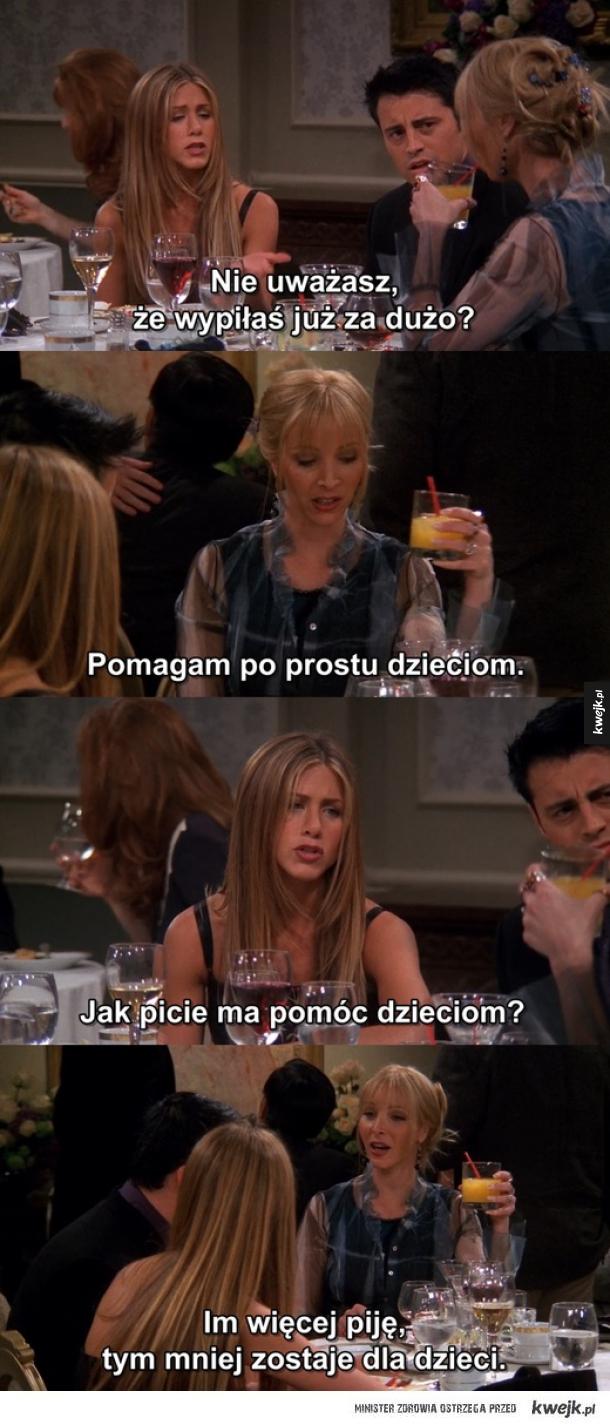 Picie alkoholu.