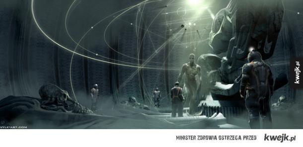 Grafiki koncepcyjne do Prometeusza Ridleya Scotta