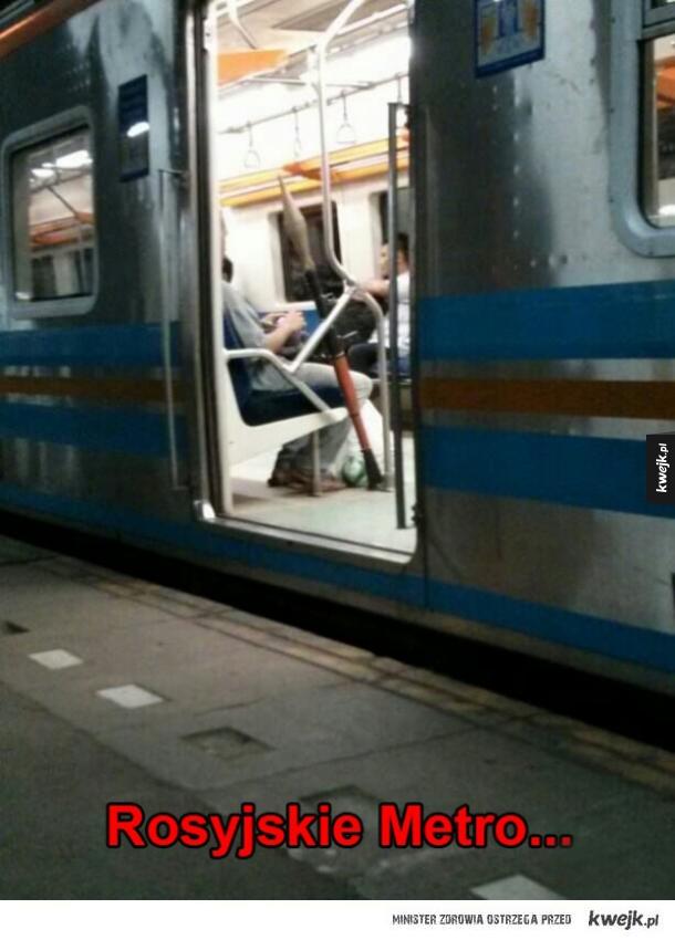 rosyjskie metro