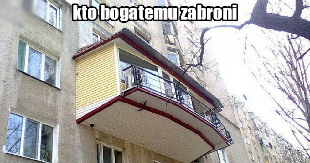 Ответы@mail.ru: почему люди сами не приделывают балконы к до.