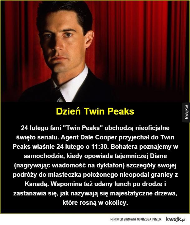 Coś dla fanów agenta Coopera - Dzień Twin Peaks. 24 lutego fani