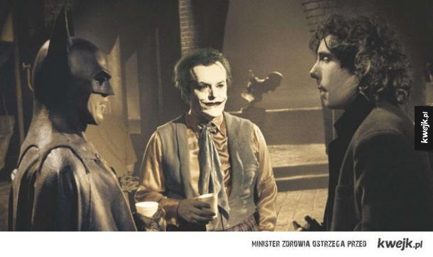 Zdjęcia z planu filmowego Batmana Tima Burtona