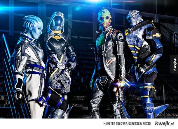 Niesamowite cosplaye fanów Mass Effect