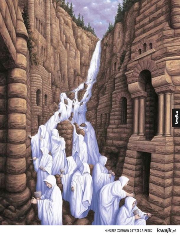 12 niesamowitych obrazów Roba Gonsalvesa przedstawiających złudzenie optyczne