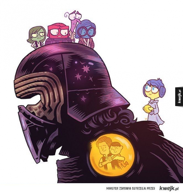 Kylo Ren Inside Out