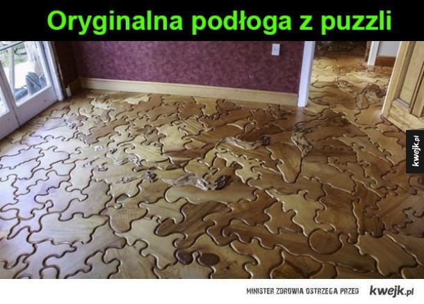 nietypowa podłoga