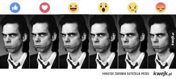 Emotki u Nicka Cave'a