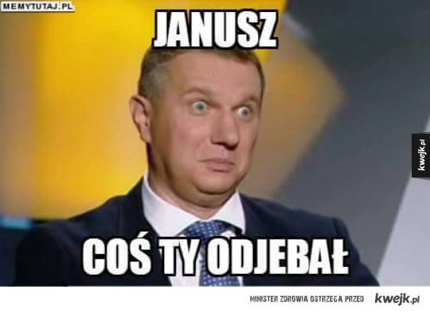 Nowe wywiady Janusza