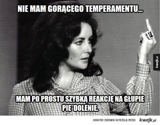 Temperament...