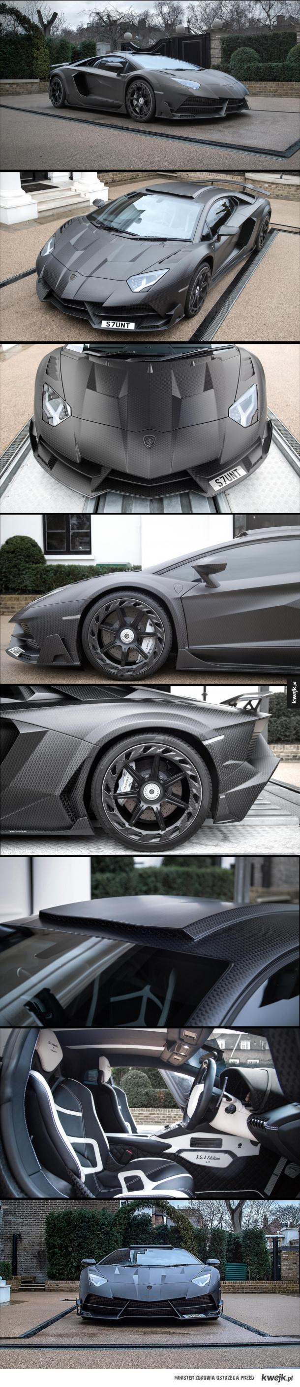 Lamborghini Aventador SV Mansory J.S. 1 Edition! o mocy 819 HP