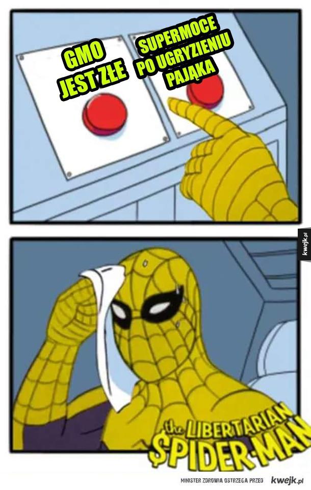 Libertariański Spiderman