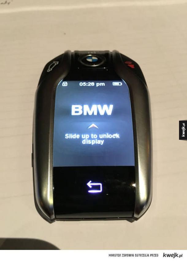 Kluczyk BMW