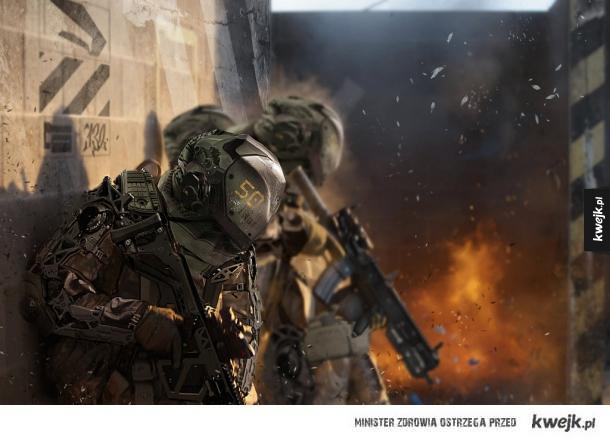 Żołnierze przyszłości oczami różnych artystów