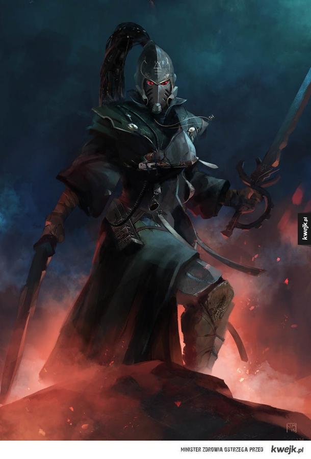 Niesamowite grafiki Eldarów z uniwersum Warhammera 40.000