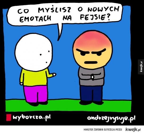 Emotki na fejsie