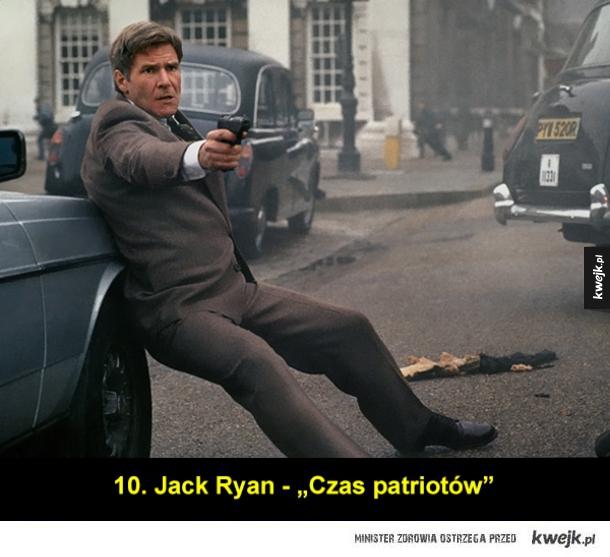 Najlepsze role Harrisona Forda