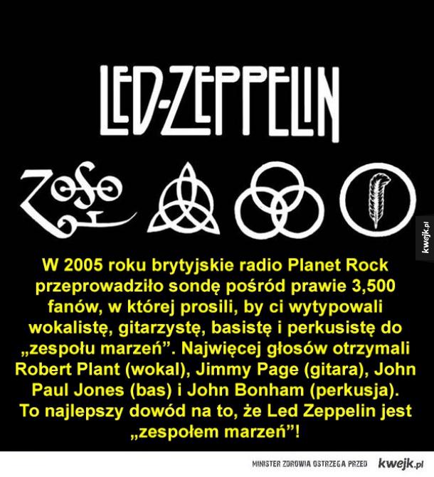 Ciekawostki o Led Zeppelin