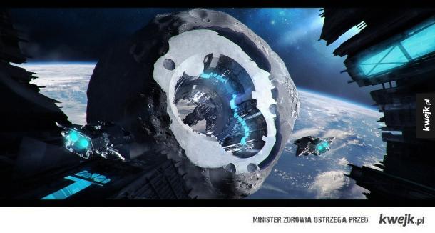 Grafiki dla fanów science fiction autorstwa Macieja Drabika