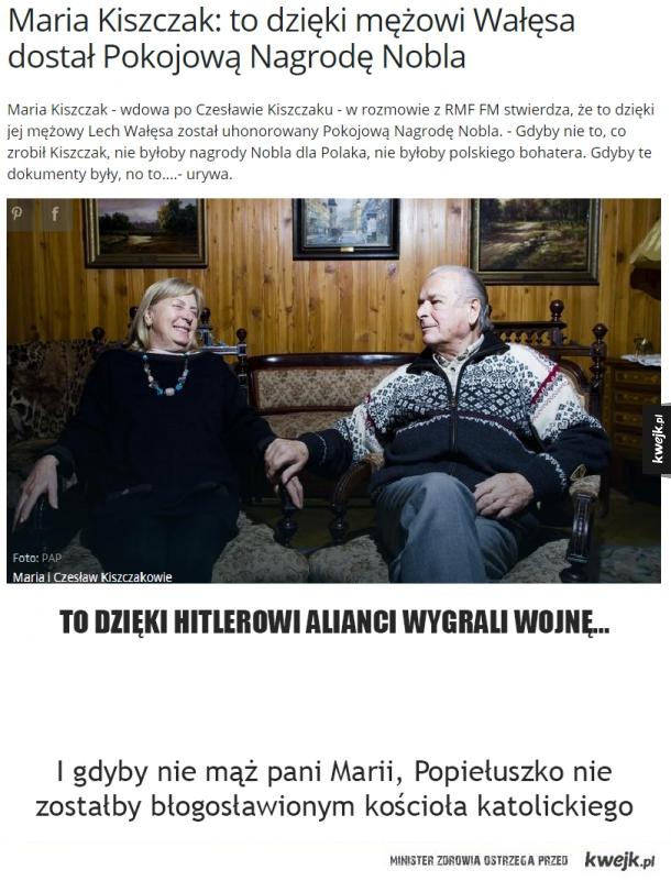 Żona Kiszczaka...