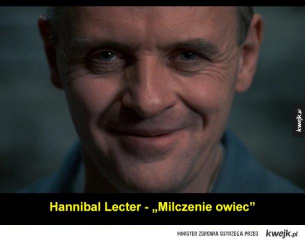 Słynni psychopaci z filmów