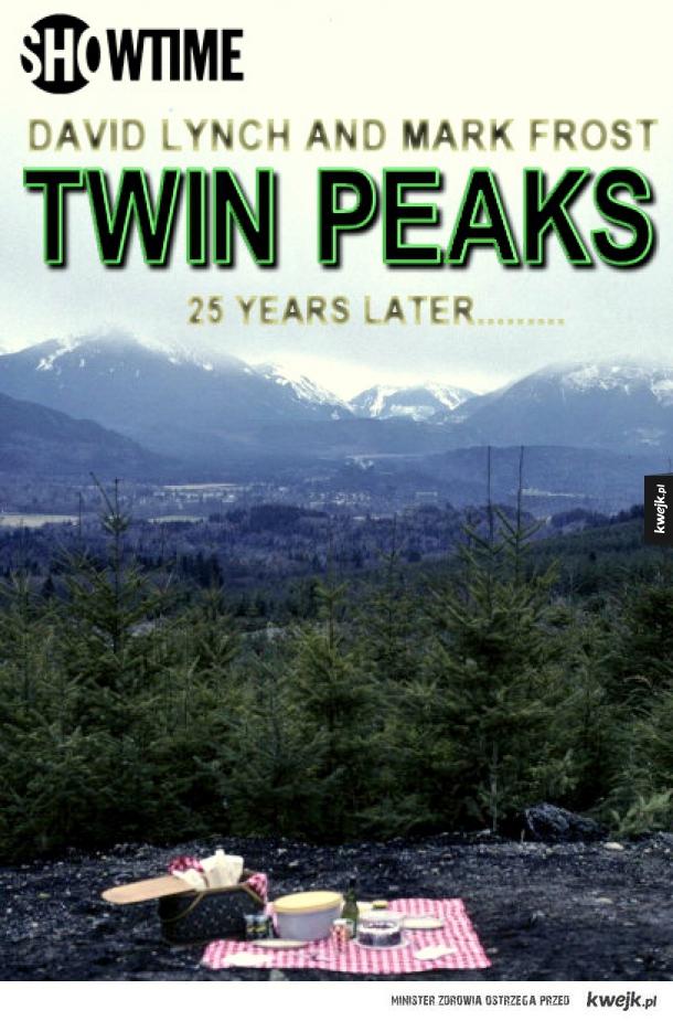 Jest plakat Twin Peaks!