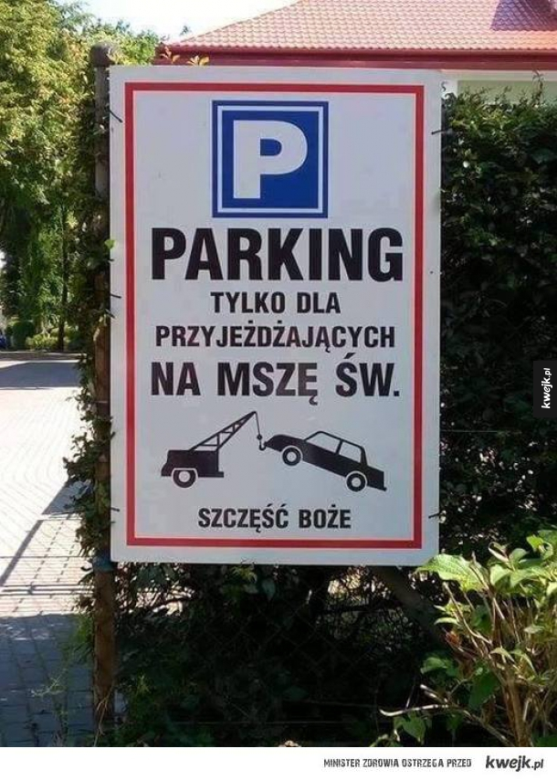 parking dla wierzących