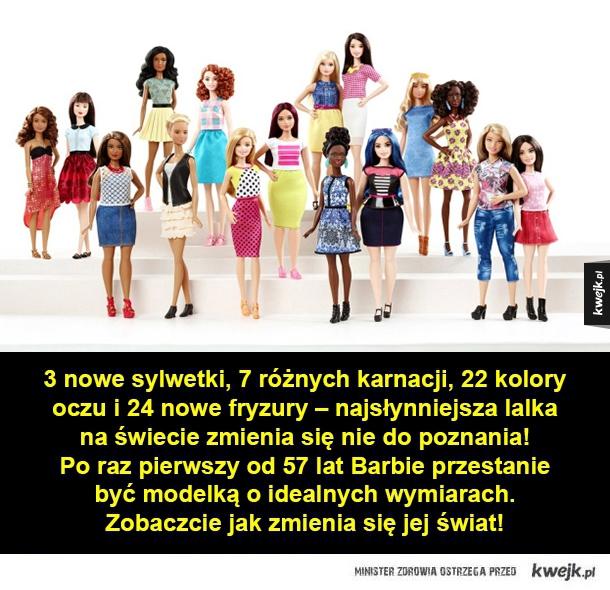 Kobiece krągłości Barbie