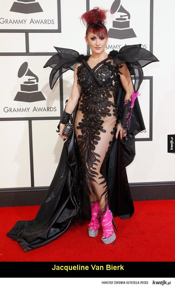 Najdziwniej ubrane celebrytki na tegorocznej gali nagród Grammy