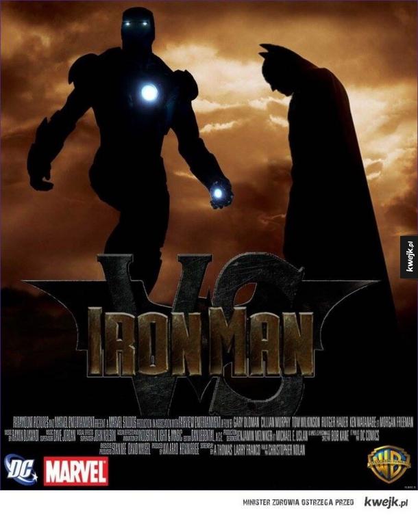 Batman vs Ironamn